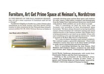 Furniture, Art, Get Prime Spaces At Neiman's, Nordstrom