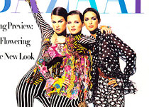 Kate Moss With Pucci Mannequins