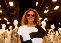 Inside DVF's Stunning Wrap Dress Exhibit in LA